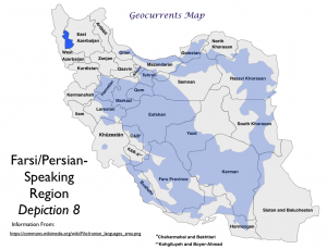 Farsi Language Map 8