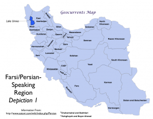 Farsi Language Map1