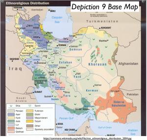 Iran Ethnoreligious Map