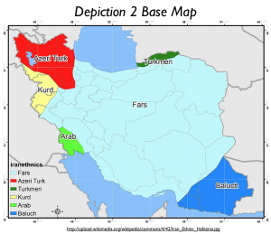 IranEthnics Map