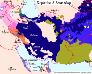 Iranian Language Map 3