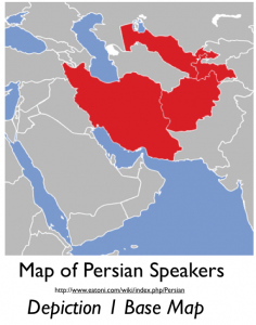 Map of Persian Speakers