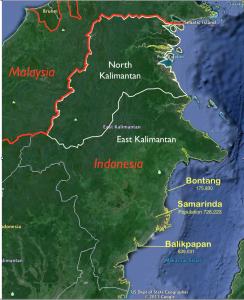North Kalimantan Google Earth