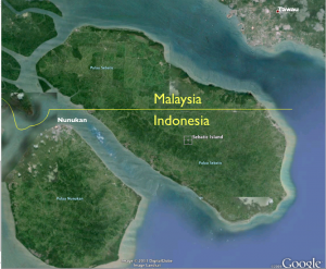 Sebatik Island Google Earth