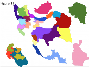 Iran Provinces Jigsaw Map