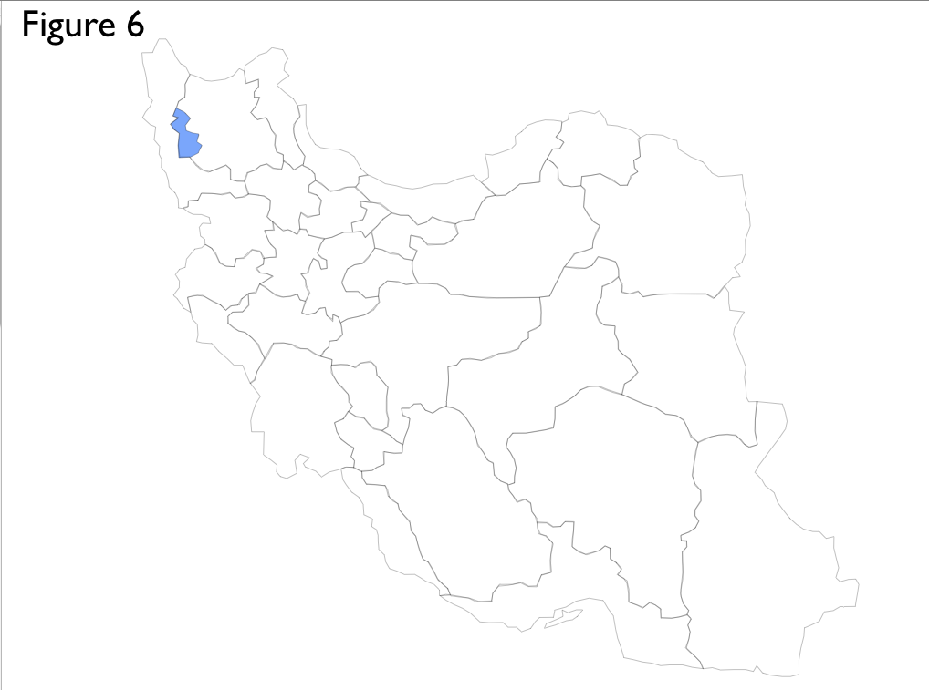 Simple Map Overlays Of Iran Using Presentation Software GeoCurrents - Iran map quiz