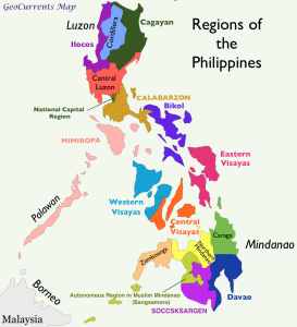Philippines Regions Map