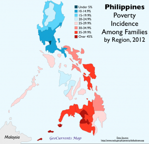 Phlippines Poverty Map