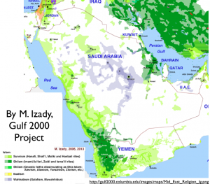 M. Izady's Arabian Religion Map