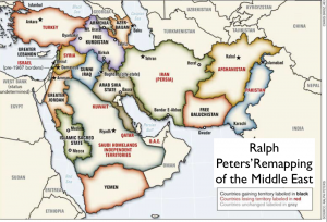 Ralph Peters' Remapped Middle East
