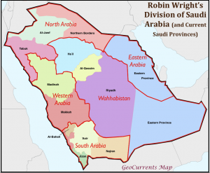 Saudi Arabia Remapped by Robin Wright