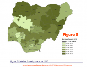 Nigeria Poverty Map 5a