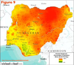 Nigeria Poverty Map 9