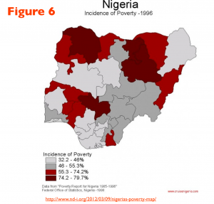Nigeria Poverty map 6