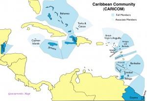 CARICOM map
