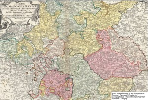 Homann Map of Imperial Circles
