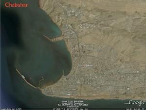 Google Earth Image of Chabahar