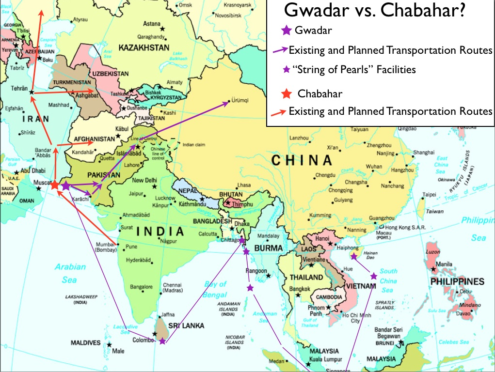 Image result for gwadar port map