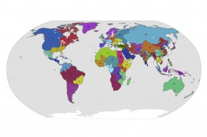 Demic Regions of the World