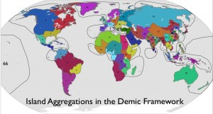 Map of Island Assignments in the Demic Framework