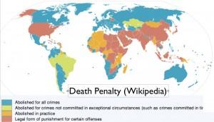 Wikipedia Map of Death Penalty