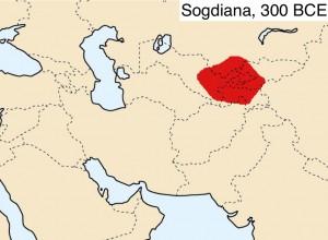Wikipedia map of Ancient Sogdiana