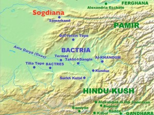 Wikipedia Map of Bactria, with Sogdiana added