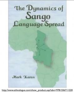 Mark Karan's Spread of Sango Map and Book Cover