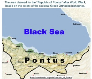 Map of the Aborted Republic of Pontus