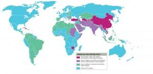 Wikipedia Religious Freedom Map