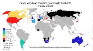 Rugby Union World Map Wikipedia