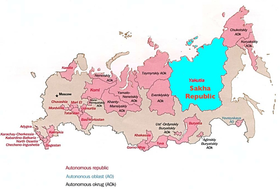 Introduction to Yakutia (Sakha)—and Russia's Grandiose Plans for ...
