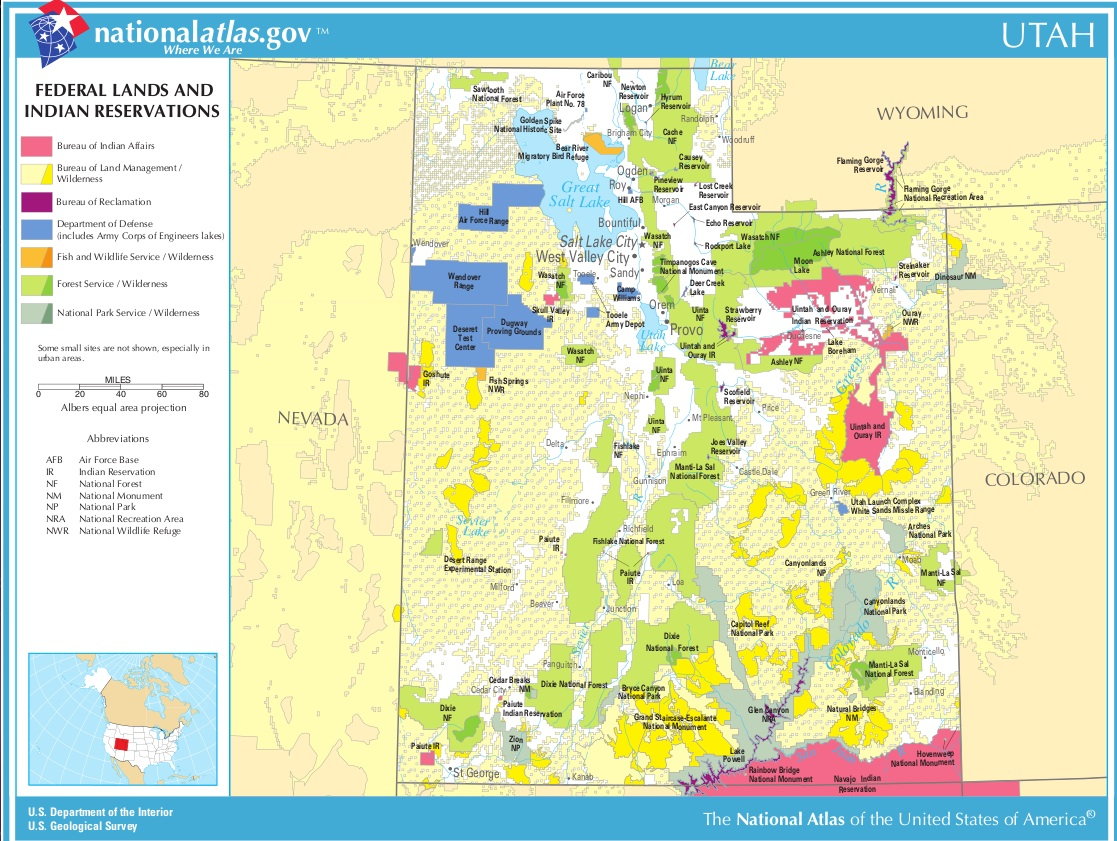 Blm Land Map Utah Utah Seeks to Annex Federal Lands | GeoCurrents Blm Land Map Utah