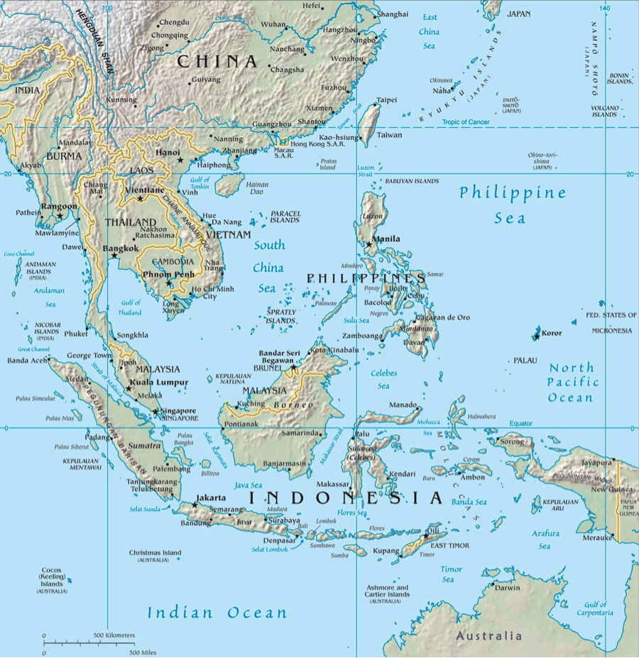 Map Of Northern Australia And Indonesia Indonesia's New Defense Deals