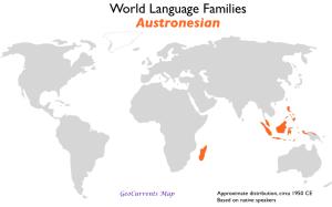 Austronesian Language Family Map
