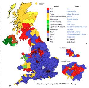 Britain 2010 Election Wikipedia Map