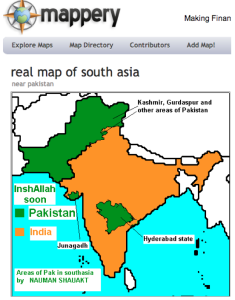 """""""Real"""" Map of Pakistan"""