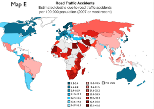 Traffic Accidents World Map