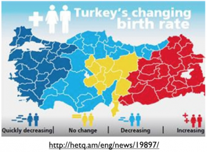 Turkey TFR Map