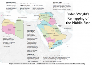Robin Wright's Remapped Middle East