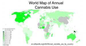 cannabis use map
